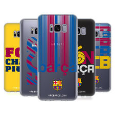 OFFICIAL FC BARCELONA 2017/18 CAMPIONS SOFT GEL CASE FOR SAMSUNG PHONES 1