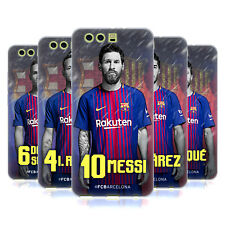 OFFICIAL FC BARCELONA 2017/18 FIRST TEAM GROUP 1 SOFT GEL CASE FOR HUAWEI PHONES