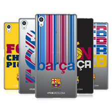 OFFICIAL FC BARCELONA 2017/18 CAMPIONS SOFT GEL CASE FOR SONY PHONES 2