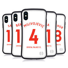 CRYSTAL PALACE FC 2018/19 PLAYERS AWAY KIT 1 HYBRID CASE FOR APPLE iPHONES PHONE