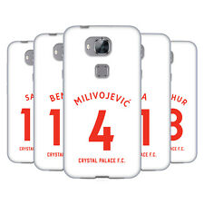 CRYSTAL PALACE FC 2018/19 PLAYERS AWAY KIT GROUP 1 GEL CASE FOR HUAWEI PHONES 2