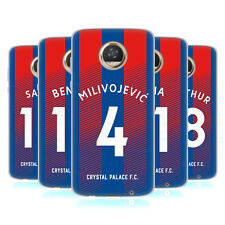 CRYSTAL PALACE FC 2018/19 PLAYERS HOME KIT GROUP 1 GEL CASE FOR MOTOROLA PHONES