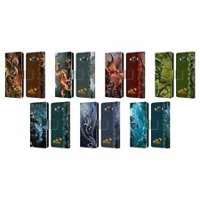 OFFICIAL ANNE STOKES AGE OF DRAGONS LEATHER BOOK CASE FOR SAMSUNG PHONES 2