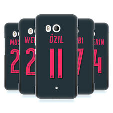 OFFICIAL ARSENAL FC 2017/18 PLAYERS THIRD KIT GROUP 1 BACK CASE FOR HTC PHONES 1