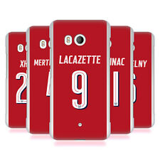 OFFICIAL ARSENAL FC 2017/18 PLAYERS HOME KIT GROUP 2 BACK CASE FOR HTC PHONES 1