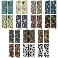OFFICIAL JULIA BADEEVA ANIMAL PATTERNS LEATHER BOOK CASE FOR APPLE iPHONE PHONES