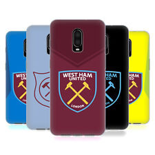 OFFICIAL WEST HAM UNITED FC 2017/18 CREST KIT GEL CASE FOR AMAZON ASUS ONEPLUS