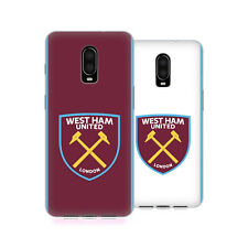 OFFICIAL WEST HAM UNITED FC 2016/17 CREST KIT GEL CASE FOR AMAZON ASUS ONEPLUS