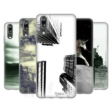 OFFICIAL HAROULITA BLACK WHITE 2 SOFT GEL CASE FOR HUAWEI PHONES
