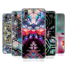 OFFICIAL HAROULITA ABSTRACT PATTERNS SOFT GEL CASE FOR HUAWEI PHONES