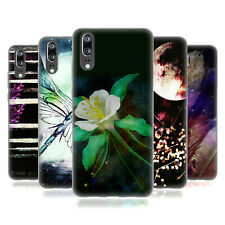 OFFICIAL HAROULITA ABSTRACT NATURE SOFT GEL CASE FOR HUAWEI PHONES