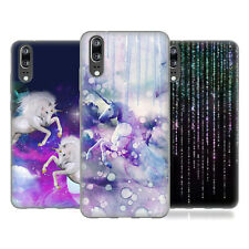 OFFICIAL HAROULITA ABSTRACT FANTASY SOFT GEL CASE FOR HUAWEI PHONES