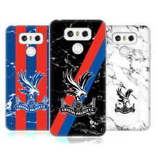 OFFICIAL CRYSTAL PALACE FC 2017/18 MARBLE SOFT GEL CASE FOR LG PHONES 1