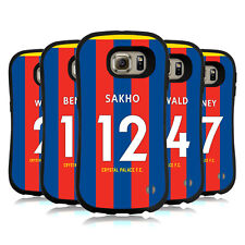 OFFICIAL CRYSTAL PALACE FC 2017/18 HOME KIT 2 HYBRID CASE FOR SAMSUNG PHONES