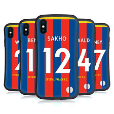 CRYSTAL PALACE FC 2017/18 HOME KIT 2 HYBRID CASE FOR APPLE iPHONES PHONES