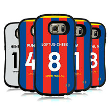 OFFICIAL CRYSTAL PALACE FC 2017/18 HOME KIT 1 HYBRID CASE FOR SAMSUNG PHONES