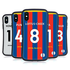 CRYSTAL PALACE FC 2017/18 HOME KIT 1 HYBRID CASE FOR APPLE iPHONES PHONES