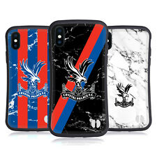 OFFICIAL CRYSTAL PALACE FC 2017/18 MARBLE HYBRID CASE FOR APPLE iPHONES PHONES