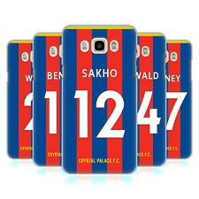 OFFICIAL CRYSTAL PALACE FC 2017/18 PLAYERS HOME KIT 2 CASE FOR SAMSUNG PHONES 3