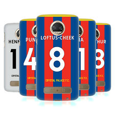 OFFICIAL CRYSTAL PALACE FC 2017/18 PLAYERS HOME KIT 1 CASE FOR MOTOROLA PHONES 1