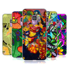 OFFICIAL HOWIE GREEN FLOWERS HARD BACK CASE FOR SAMSUNG PHONES 1