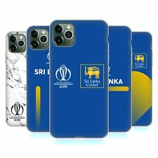 OFFICIAL ICC SRI LANKA CRICKET WORLD CUP SOFT GEL CASE FOR APPLE iPHONE PHONES