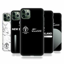 OFFICIAL ICC NEW ZEALAND CRICKET WORLD CUP SOFT GEL CASE FOR APPLE iPHONE PHONES