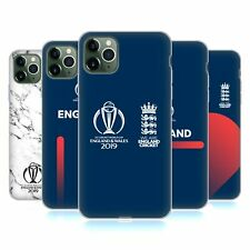 OFFICIAL ICC ENGLAND CRICKET WORLD CUP SOFT GEL CASE FOR APPLE iPHONE PHONES