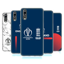 OFFICIAL ICC ENGLAND CRICKET WORLD CUP SOFT GEL CASE FOR HUAWEI PHONES