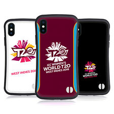 OFFICIAL ICC WOMEN'S WORLD T20 CRICKET HYBRID CASE FOR APPLE iPHONES PHONES