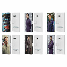 OFFICIAL STAR TREK ICONIC CHARACTERS ENT LEATHER BOOK CASE FOR HTC PHONES 1
