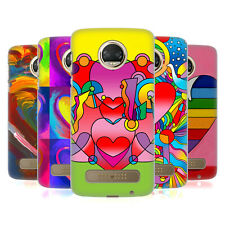 OFFICIAL HOWIE GREEN HEARTS HARD BACK CASE FOR MOTOROLA PHONES 1
