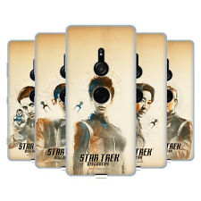 OFFICIAL STAR TREK DISCOVERY GRUNGE CHARACTERS SOFT GEL CASE FOR SONY PHONES 1