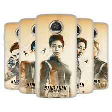 OFFICIAL STAR TREK DISCOVERY GRUNGE CHARACTERS SOFT GEL CASE FOR MOTOROLA PHONES