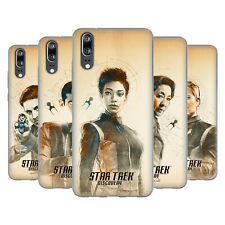OFFICIAL STAR TREK DISCOVERY GRUNGE CHARACTERS SOFT GEL CASE FOR HUAWEI PHONES