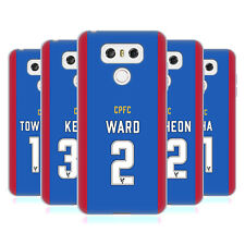 OFFICIAL CRYSTAL PALACE FC 2016/17 PLAYERS HOME KIT GEL CASE FOR LG PHONES 1