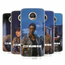 OFFICIAL AMC THE WALKING DEAD FILTERED CHARACTERS GEL CASE FOR MOTOROLA PHONES