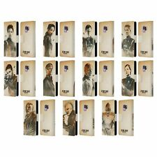 STAR TREK DISCOVERY GRUNGE CHARACTERS LEATHER BOOK CASE FOR SAMSUNG PHONES 1