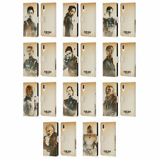 STAR TREK DISCOVERY GRUNGE CHARACTERS LEATHER BOOK WALLET CASE FOR HUAWEI PHONES