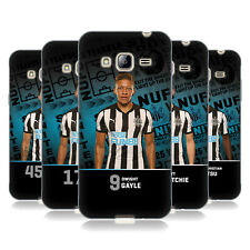 NEWCASTLE UNITED FC NUFC 2017/18 FIRST TEAM 1 SOFT GEL CASE FOR SAMSUNG PHONES 3