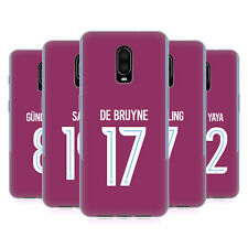 MAN CITY FC 2017/18 PLAYERS AWAY KIT GROUP 1 GEL CASE FOR AMAZON ASUS ONEPLUS