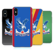 OFFICIAL CRYSTAL PALACE FC 2016/17 PLAYERS KIT GEL CASE FOR APPLE iPHONE PHONES