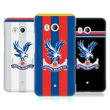 OFFICIAL CRYSTAL PALACE FC 2017/18 PLAYERS KIT HARD BACK CASE FOR HTC PHONES 1