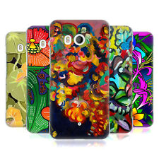 OFFICIAL HOWIE GREEN FLOWERS HARD BACK CASE FOR HTC PHONES 1