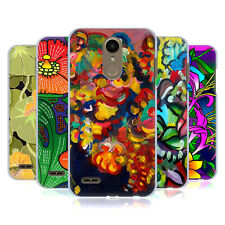 OFFICIAL HOWIE GREEN FLOWERS HARD BACK CASE FOR LG PHONES 1