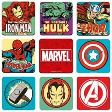 Single Coaster - Genuine Marvel Comics Drinks Mat Retro Gift Avengers Iron Man