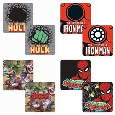 Single Coaster Genuine Marvel Comics Lenticular 3D Drinks Mat Avengers Hulk Thor