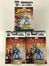 MARVEL Spider-Man & Avengers JADA Nano Metalfigs Die-cast Collectible Figurines