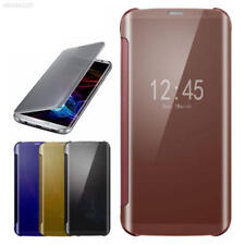 A559 MirrorClearSmartViewSlimFlipLeatherCaseCover For Samsung GALAXY S8 Note8