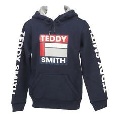 Sweat capuche hooded Teddy smith Sofrench navy cap sw g Bleu 12065 - Neuf